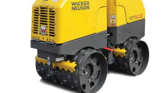 Module Caspi has deployed Wacker Neuson Trench Compactors for SPCX project road infrastructure constructions.